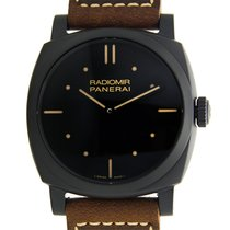 沛納海 (Panerai) New  Radiomir Ceramics Black Manual Wind PAM00577