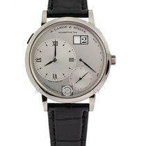 A. Lange & Söhne 117.025 Grande Lange 1 Platinum Silver Dial