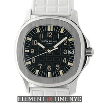 Patek Philippe Aquanaut Stainless Steel 34mm Black Dial On...