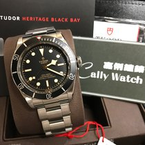 Tudor Cally - 新出 [盾] 自家機芯 79230N Heritage Black Bay Steel 鋼帶