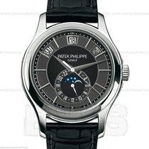Patek Philippe New Annual Calendar Black Dial 5205G B&P New
