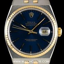 ロレックス (Rolex) S/G Blue Dial Oysterquartz Datejust Vintage...