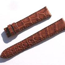 Zenith Croco Band Armband Braun Brown 16 Mm Für Dornschliesse...