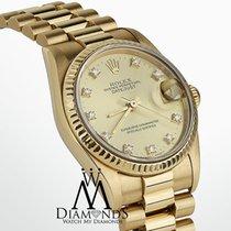 Rolex Ladies Rolex Presidential Datejust 18k Yellow Gold...