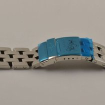 Breitling Pilot Armband 20mm Chronomat Stahl/stahl Neu 300a