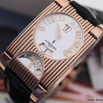 De Grisogono Men's FG One 18K Pink Gold Automatic Retrogra...