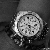 Breitling Super Avenger A13370 Chronograph perfektes Fullset...