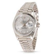 Rolex Datejust 79179 Women's Watch in White Gold