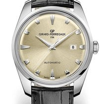 Girard Perregaux HERITAGE 1957 Steel Dial Champagne With A...