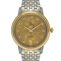 Omega De Ville Prestige 32.7mm Steel/Gold Ladies Watch –...