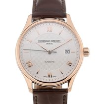 Frederique Constant Classics Index 40 Date Silver Dial