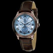 Louis XVI ÉLYSÉE brun bleu saphir Swiss Made 518