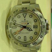 ロレックス (Rolex) ROLEX EXPLORER II WHITE DIAL 216570