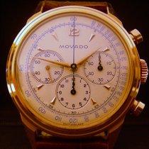 Movado Cronografo cassa a vite oro rosa