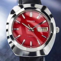 Citizen Vintage Day Date Manual Wind, Red Dial