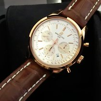 Breitling Transocean Chronograph  Rose Gold 18K