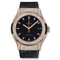 Hublot Classic Fusion King Gold Pavé 45 mm