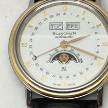 Blancpain villeret quantième complet or/acier