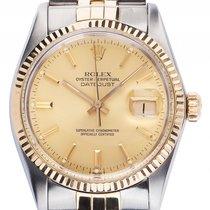 Rolex Datejust Stahl Gelbgold Automatik Armband Jubilé Stahl...