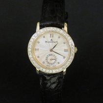 Blancpain Villeret Dame Or jaune 18k Diamants Automatique