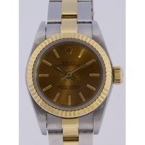 Rolex Lady Date 67193 Dial turned brown