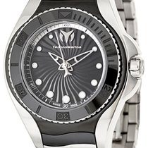 Technomarine Blue Manta Steel & Black Ceramic Womens Watch...