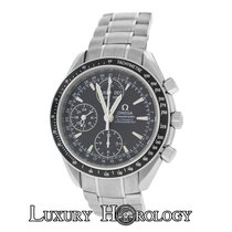 Omega Mens  Speedmaster 3220.50 Chronometer Triple Date Black