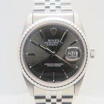 Rolex Datejust Grey Dial 36mm (Bracelet Like New)