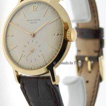 Patek Philippe 37mm Calatrava 2458 18K Gold Vintage Mens Watch...