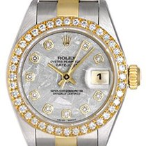 Rolex Ladies Rolex Datejust Watch 79173 Factory Meteorite...