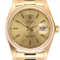 Rolex Day Date 18kt Gelbgold Automatik Armband Präsident 36mm...