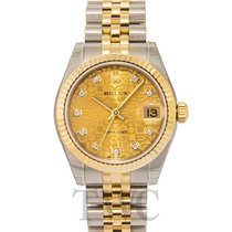 ロレックス (Rolex) Datejust Lady 31 Steel Gold Champ Dia - 178273