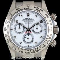 Rolex 18k White Gold O/P White Dial Cosmograph Daytona 116519