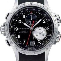 Hamilton Khaki ETO H77612333 Herrenchronograph Sehr gut ablesbar