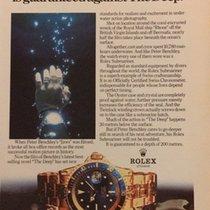 Rolex Vintage Rolex Advertising Submariner