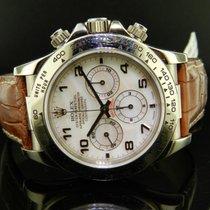 Rolex Daytona Cosmograph Ref. 16519 Oro Bianco Madreperla
