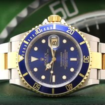Rolex Submariner Date 16613 Blue – 2005 – Never Polished –...