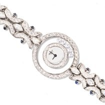 Chopard 18kt White Gold Internally Flawless Happy Diamond