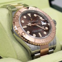 Rolex Yacht Master 116621 40mm Chocolate Dial Steel/18k...
