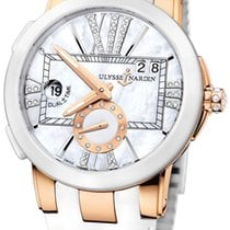 Ulysse Nardin Executive Dual Time Lady 18K Rose Gold Automatic...