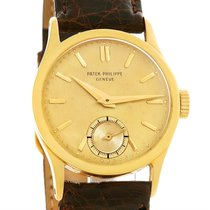 Patek Philippe Calatrava Vintage 18k Yellow Gold Mechanical...
