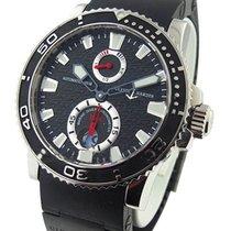 Ulysse Nardin 263-33-3C/82 Maxi Marine Diver - Steel on Black...