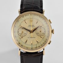 "Rolex Vintage Chronograph Yellow Gold ""Coin Edge"""