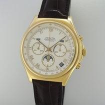 Zenith El Primero Vollkalender Mondphase Chronograph -Gold...