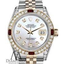 Rolex Womens Rolex Steel & Gold 31mm Datejust Watch...