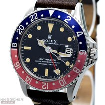 Rolex Vintage GMT Master Long E Ref-1675 Stainless Steel Bj-1970