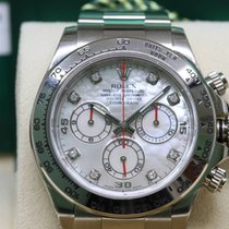 Rolex Daytona 116509 white gold, mother of pearl dial