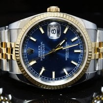 Rolex 2004 36mm Datejust, Steel & Gold, MINT,  116233 Box...