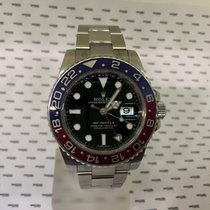 Ρολεξ (Rolex) GMT Master II White Gold Blue Red Pepsi Bezel -...