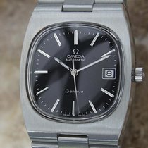 Omega Geneve Large Automatic 1968 36MM Mens Vintage Stainless...